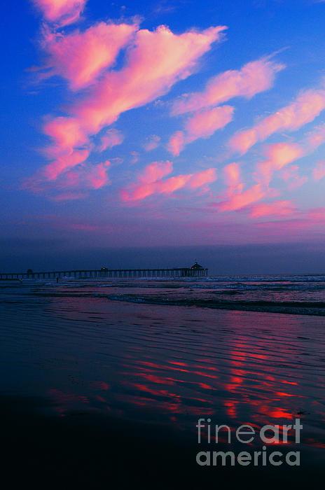 Beach Photograph - Imperial Beach At Dusk by Sabino Cruz