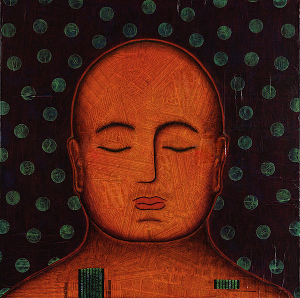 Buddha Painting - Inner Visions by Gloria Rothrock