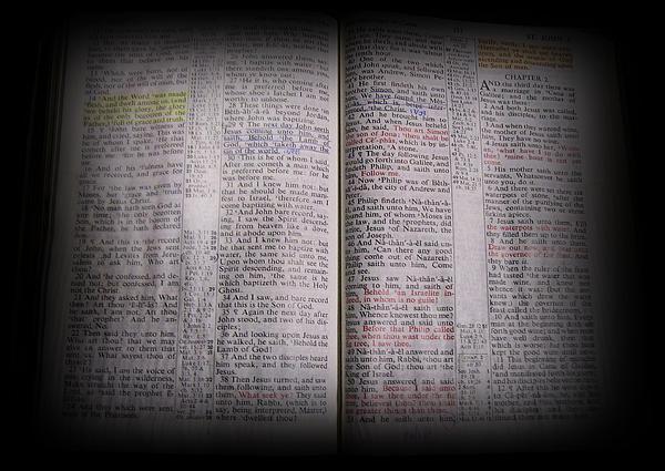 John 1:14 Photograph - Inspirations 16 John 1 V14 by Sara  Raber