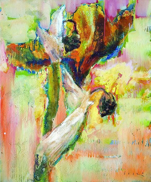 Iris Painting - Iris 13 by Petro Bevza