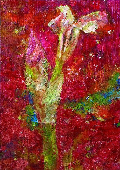 Iris Painting - Iris 28 Croatian by Petro Bevza