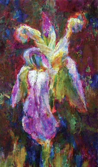 Iris Painting - Iris Vrubel by Petro Bevza