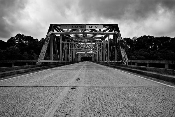 Old  Photograph - Iron Bridge Mississippi by Bryan Burch