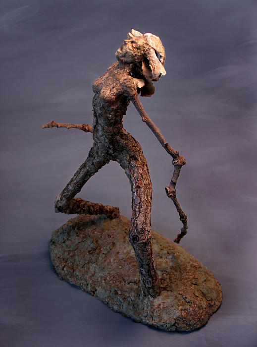 Adam Sculpture - Its Not Nice To Fool Mother Nature by Adam Long