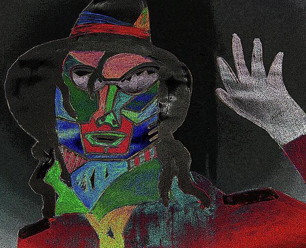 Celebrities Digital Art - Jacko by Karen Elzinga