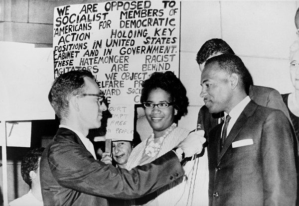 History Photograph - James Meredith And Wife In Front by Everett