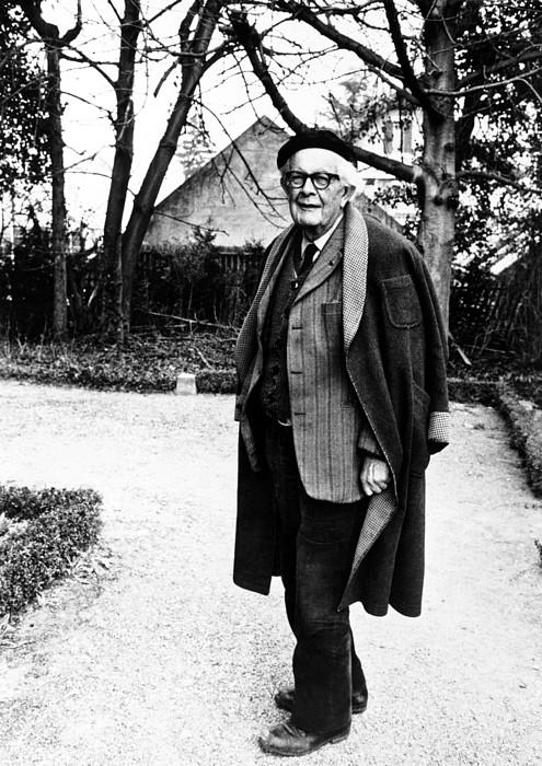 Author Photograph - Jean Piaget, Author, 1974 by Everett