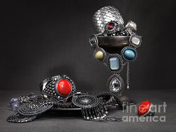 Jewellery Photograph - Jewellery Still Life by Oleksiy Maksymenko