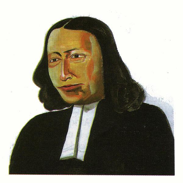 Portraits Painting - John Wesley by Emmanuel Baliyanga