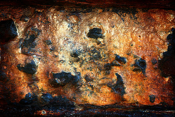 Rust Photograph - Just Rust by Shane Rees
