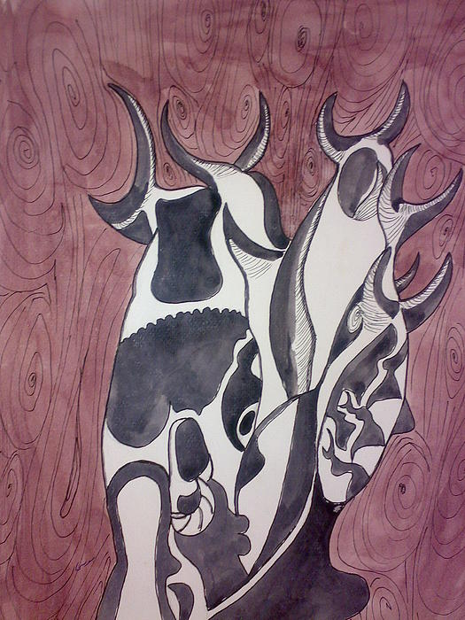Kambala Painting by Musa Salih
