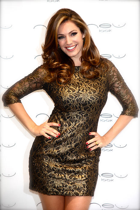 Photographer Photograph - Kelly Brook 3 by Jez C Self