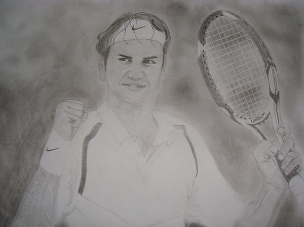 Roger Painting - King Of Our Times by Mohammed Shareef