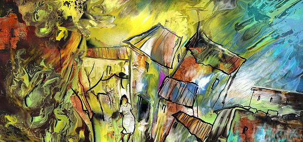 France Painting - La Provence 27 by Miki De Goodaboom