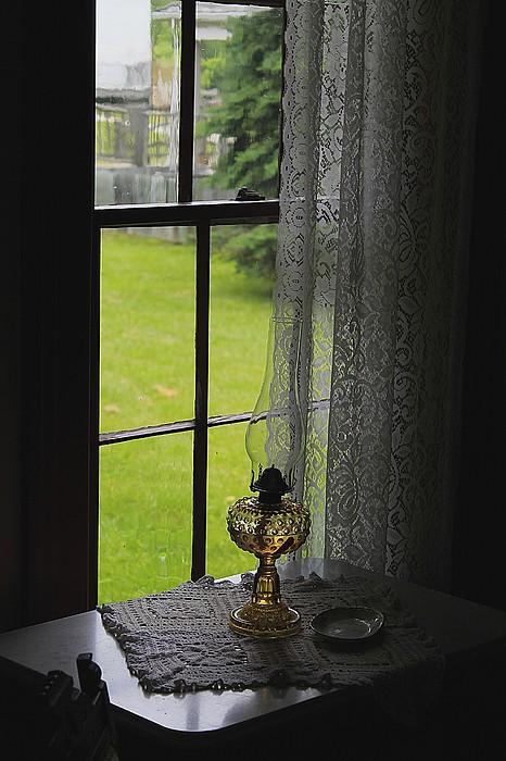 Hovind Photograph - Lace Curtains by Scott Hovind