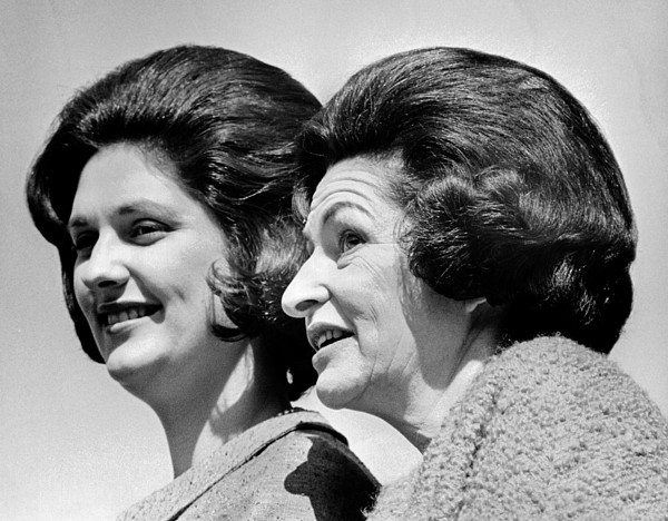 History Photograph - Lady Bird Johnson, The First Lady by Everett