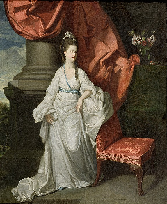 Lady Painting - Lady Grant - Wife Of Sir James Grant by Johann Zoffany