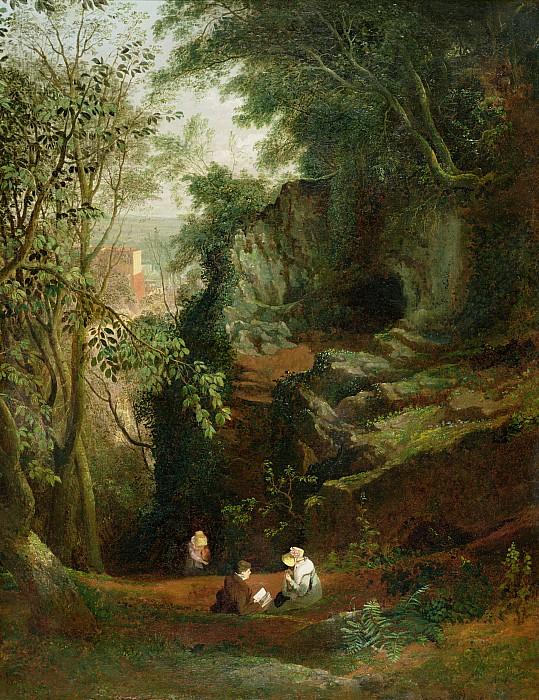 Landscape Photograph - Landscape Near Clifton by Francis Danby