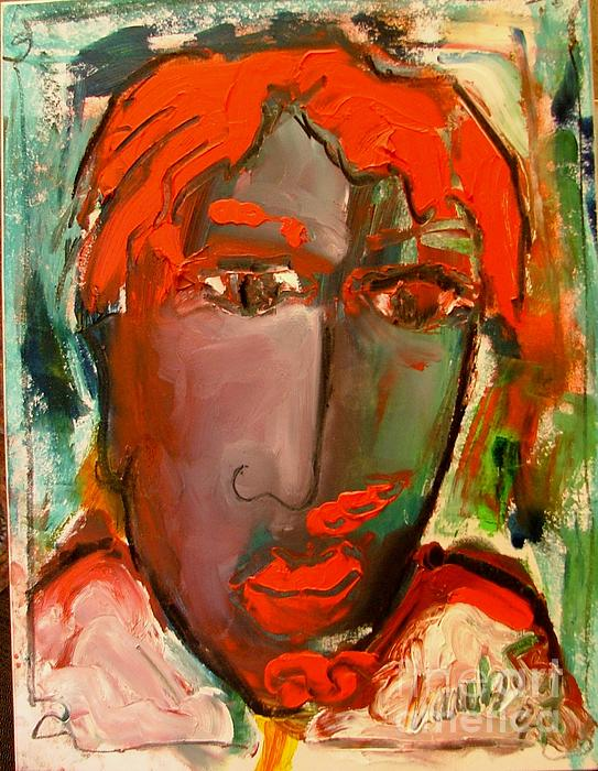 Adele Painting - Laubar Face Adele by Laurens  Barnard