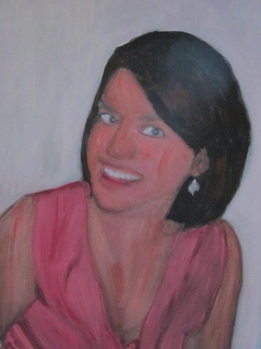 Painting - Lauren by David Poyant