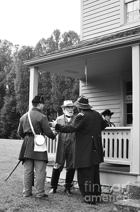 General Lee Photograph - Lee And Grant by Thomas R Fletcher