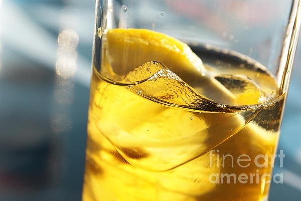 Acid Photograph - Lemon Drink by Carlos Caetano