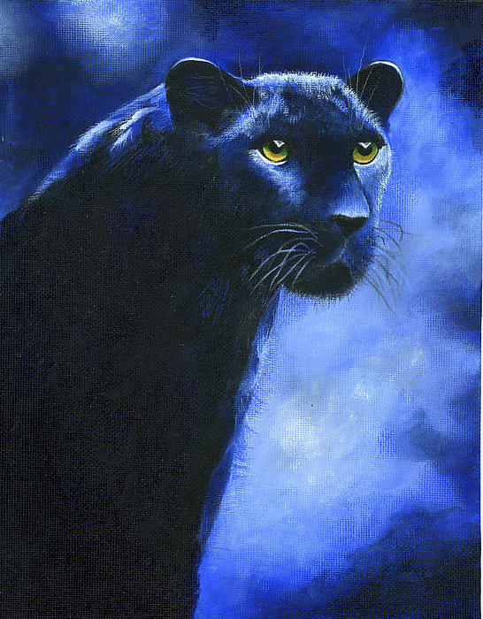 Leopard Painting - Leopard by Diana Lehr