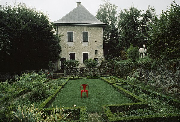 Outdoor Photograph - Les Charmettes, Home Of Philosopher by James L. Stanfield
