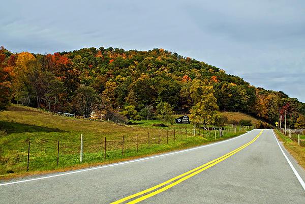 West Virginia Photograph - Let It Roll Paint  by Steve Harrington
