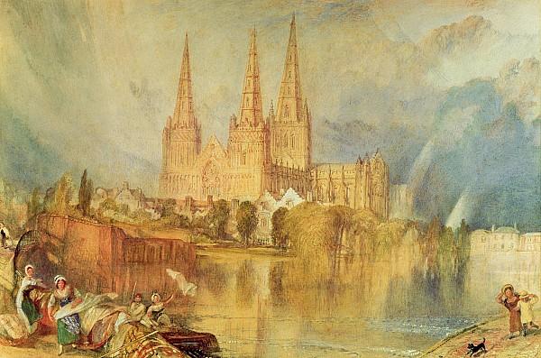 Lichfield Painting - Lichfield by Joseph Mallord William Turner