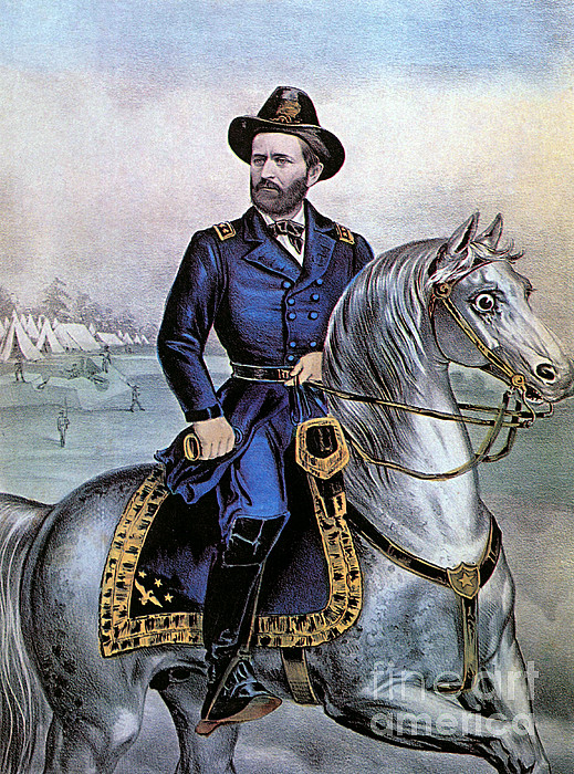History Photograph - Lieutenant General Ulysses S Grant by Photo Researchers