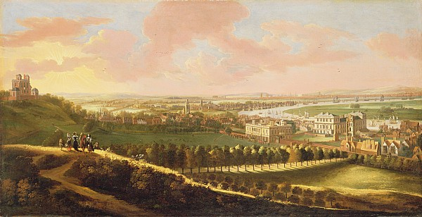 London Photograph - London From Greenwich Hill by  English School