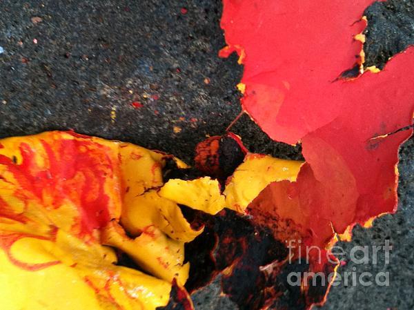 Fania Simon Painting - Long Time Victims by Fania Simon