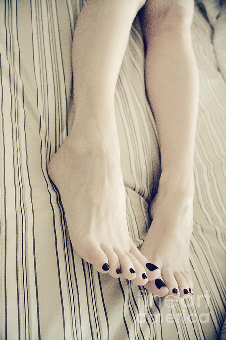 Toes Photograph - Long Toes by Tos Photos