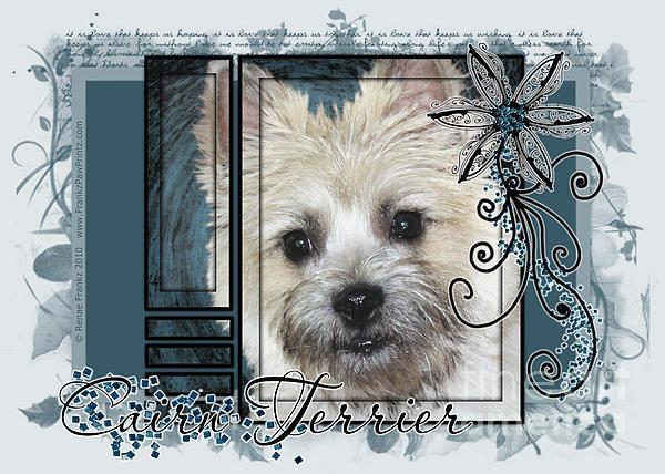 Cairn Terrier Digital Art - Look In Her Eyes - Cairn Terrier by Renae Laughner