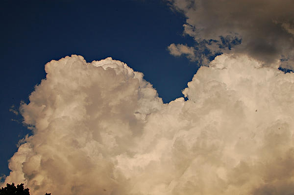 Clouds Photograph - Looking Through by Jessica Wilson