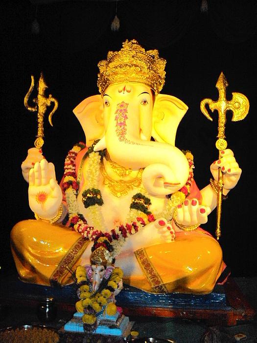 Ganesha Photograph - Lord Ganapati by Pranav  Waghmare