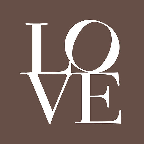 Love Digital Art - Love In Chocolate by Michael Tompsett