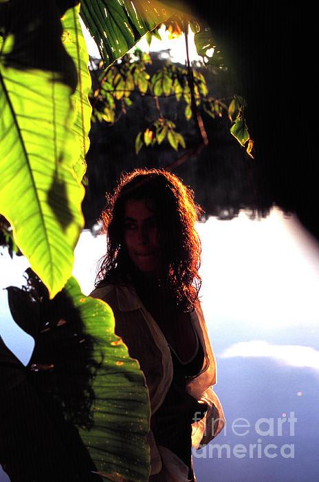 Ecuador Photograph - Lovely Lady Evening Light by Thomas R Fletcher