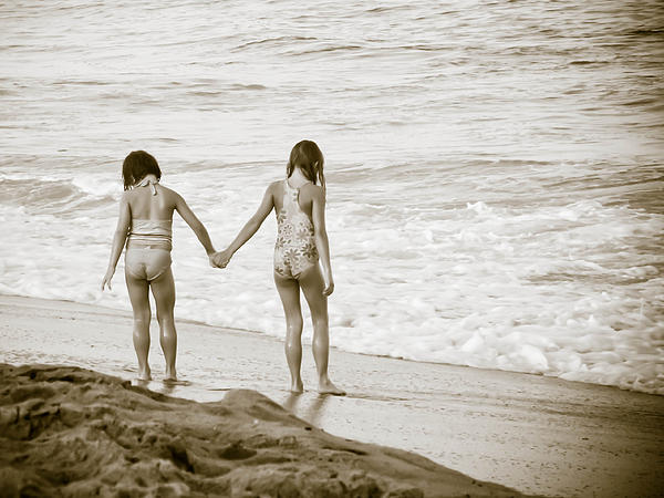 Best Friends Photograph - M Is For Memories by Trish Tritz