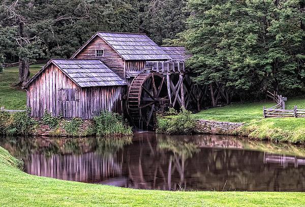Mill Photograph - Mabry Mill by Wade Aiken