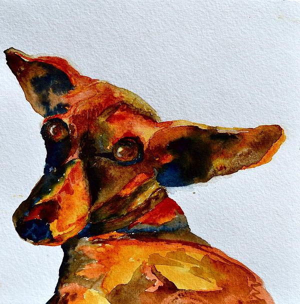 Dachshund Painting - Macey by Beverley Harper Tinsley