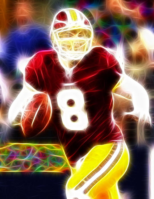 Washington Redskins Drawing - Magical Rex Grossman by Paul Van Scott