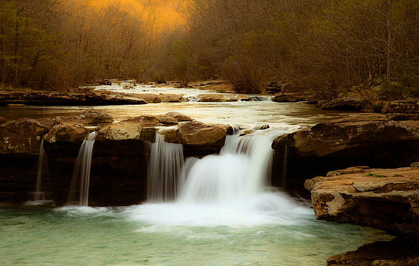 Landscape Photograph - Majestic Waterfalls by Iris Greenwell