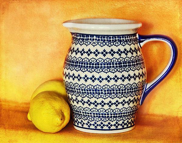 Pitcher Photograph - Making Lemonade by Tammy Wetzel