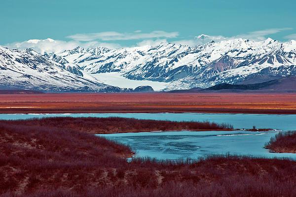 Mountains Photograph - Mclaren Glacier by Rick Berk