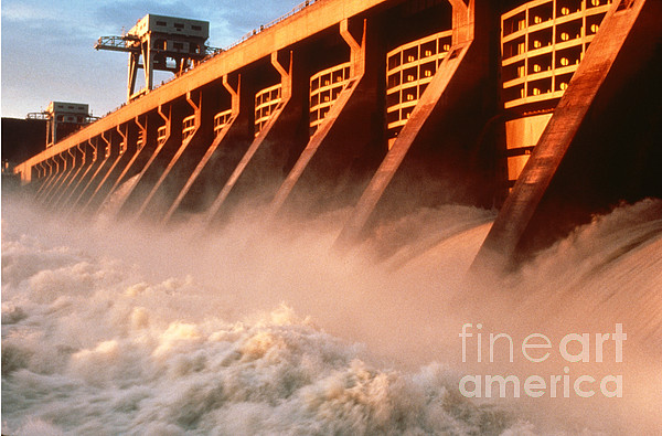 Hydroelectric Power Photograph - Mcnary Dam by DOE/Science Source
