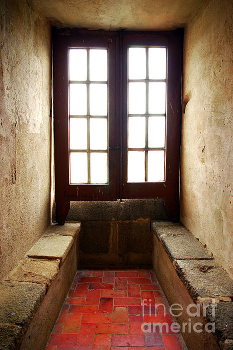 Abstract Photograph - Medieval Window by Carlos Caetano