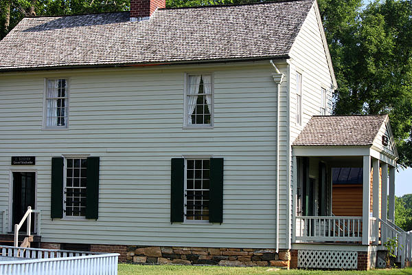 Appomattox Photograph - Meeks Store Appomattox Court House Virginia by Teresa Mucha