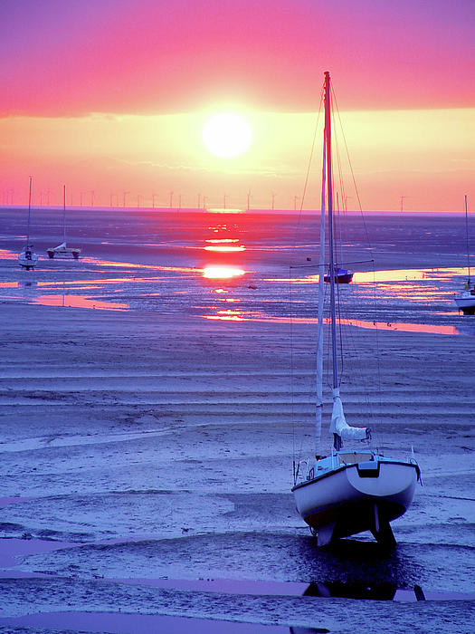 Beach Photograph - Meols Beach On The Wirral by Duncan Rowe